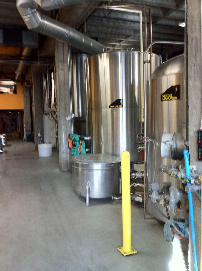 Hopworks Urban Brewery tanks