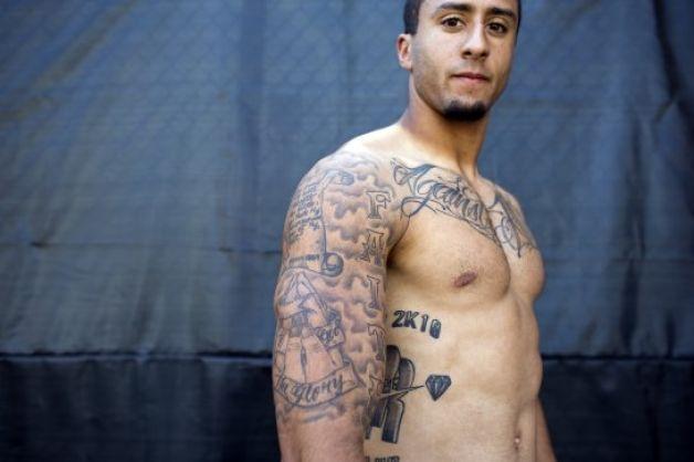 Kaep's tattoos