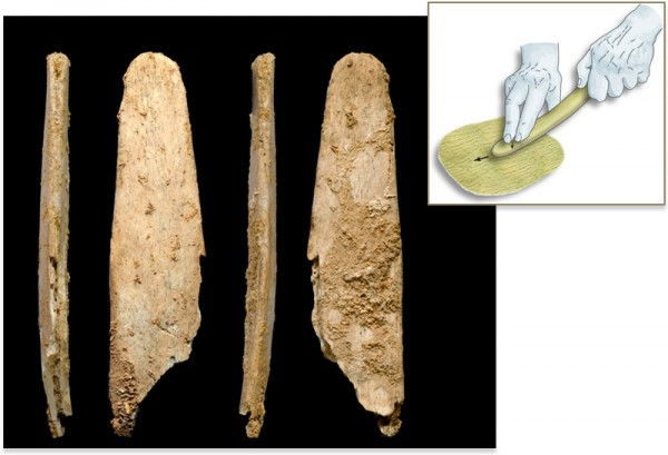 Neanderthal bone tools