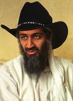 Osama in cowboy hat