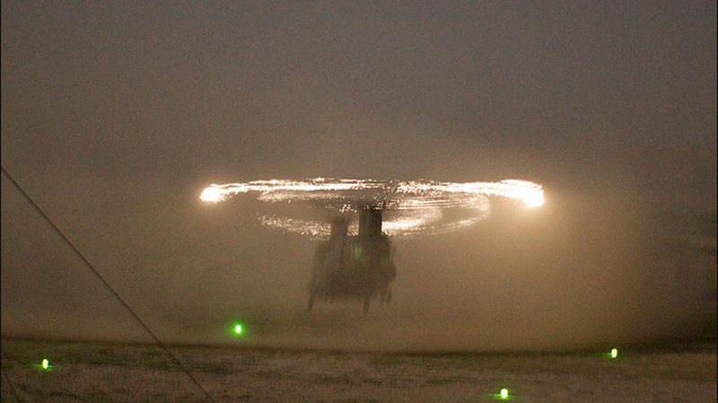 Rotor sparks