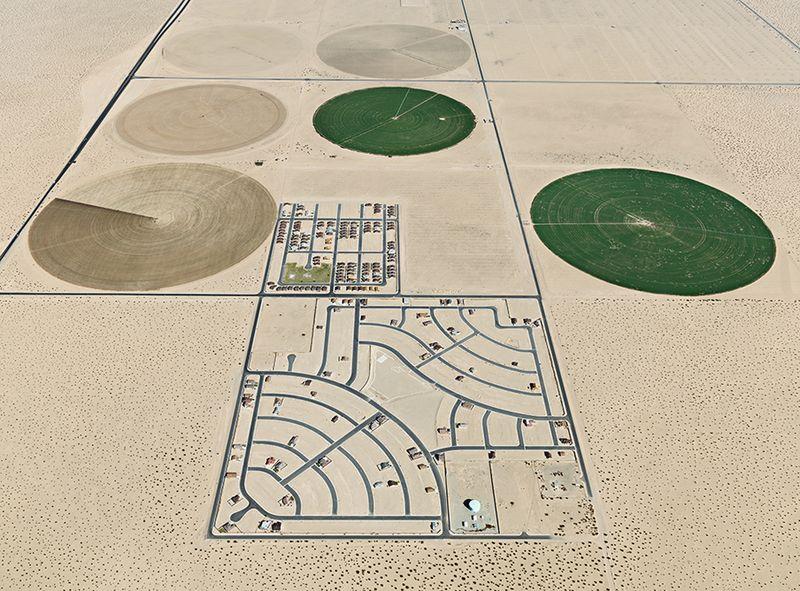 Pivot irrigation, Yuma AZ