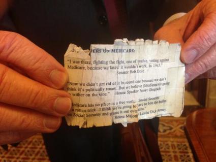 From Harry Reid's wallet