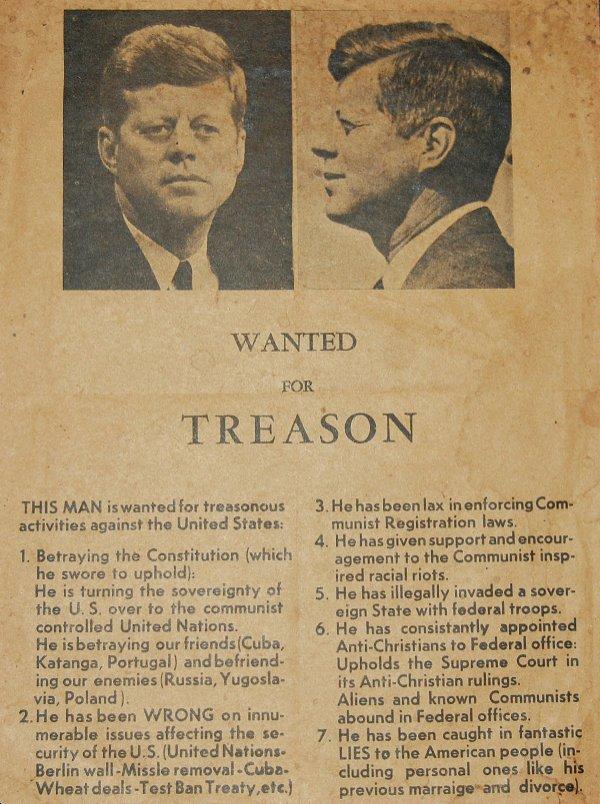 Treason flyer