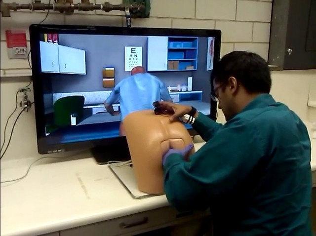 Virtual prostate exam
