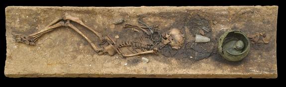 Buried with grog