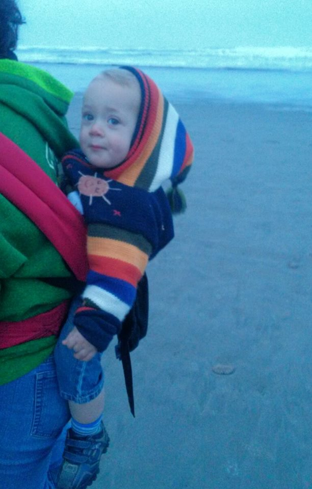 A chilly morning at the beach
