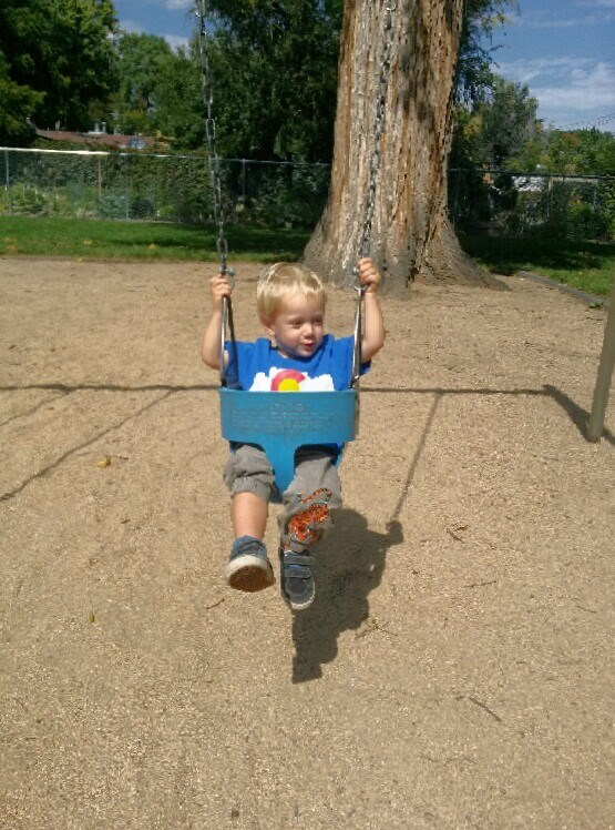 O finds a swing in Colorado