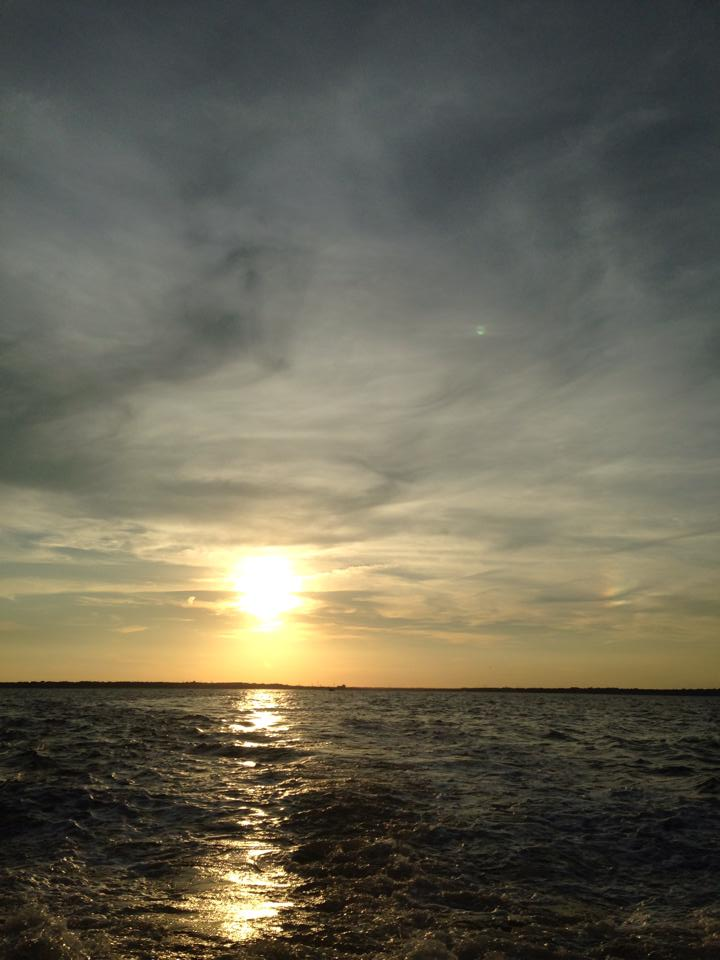 Sunset over Raritan Bay