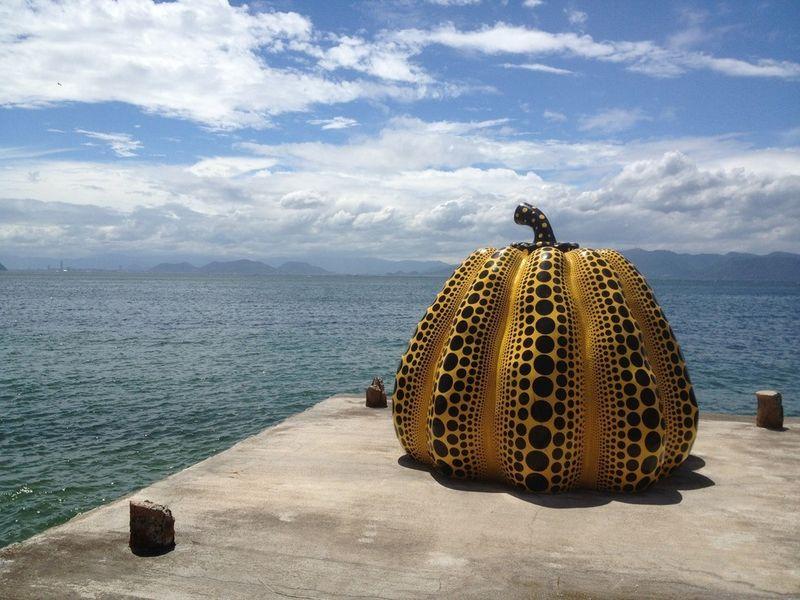 Artist's pumpkin, Japan