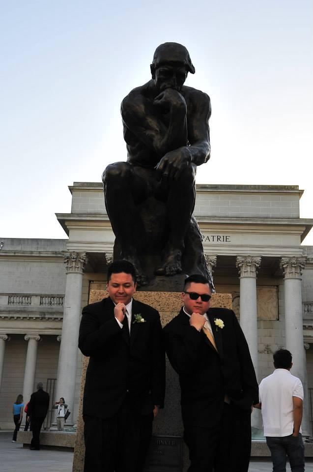 Matt & Mike, thinking