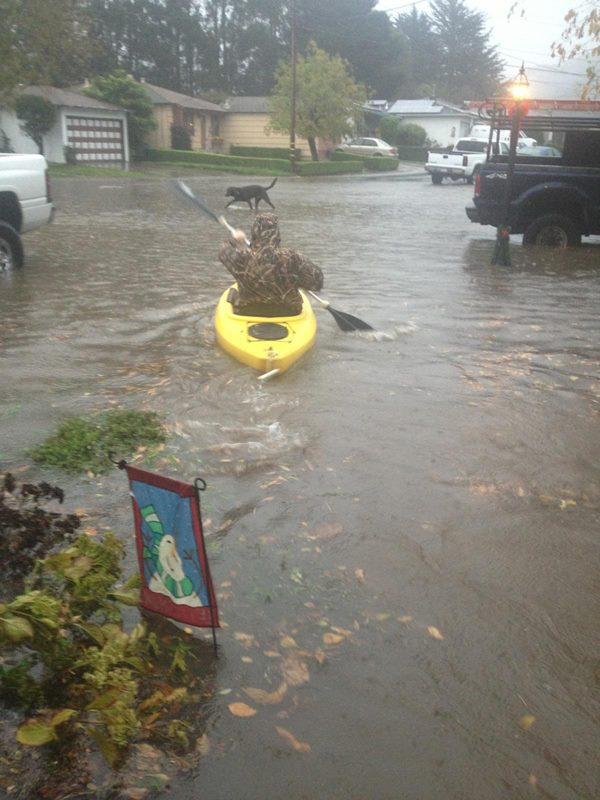 Flooding in Pacifica, CA