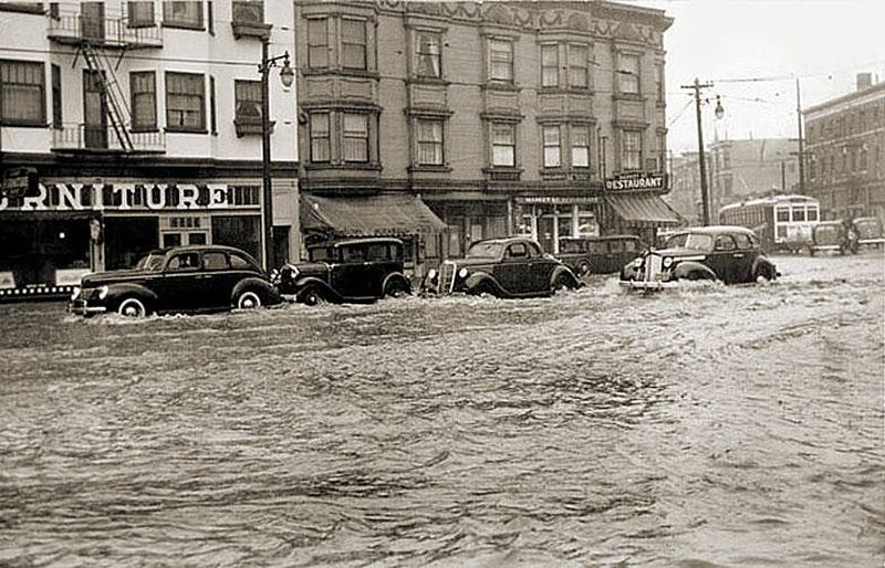 San Francisco flooding, 1920s