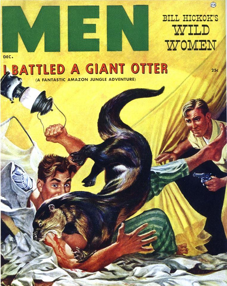 I battled a giant otter
