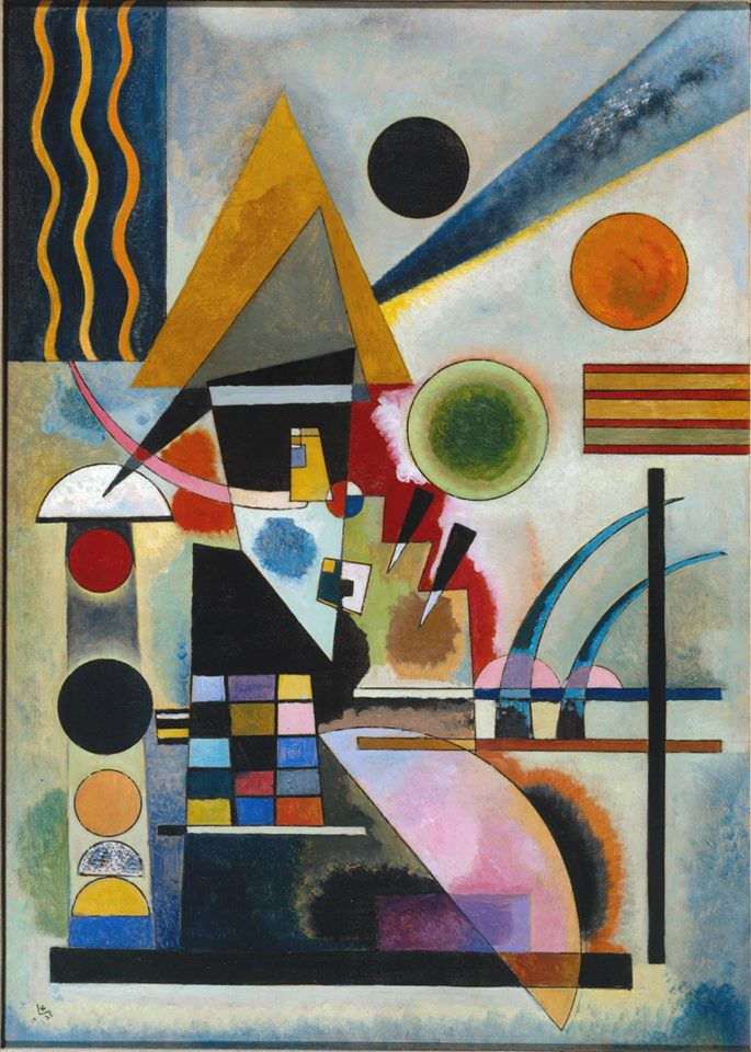 'Swinging' by Kandinsky