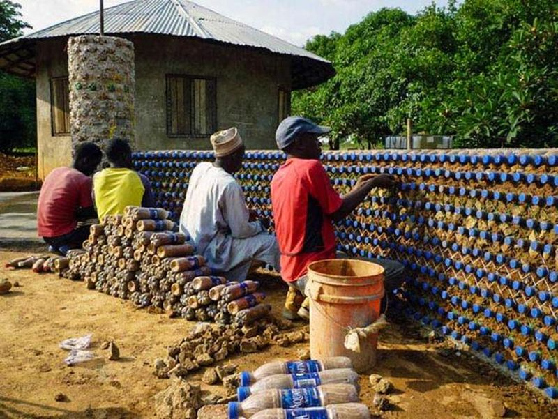Recycling plastic bottles in Nigeria