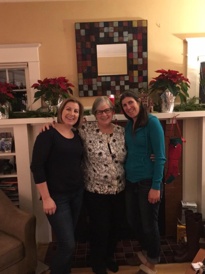 Joan & her girls