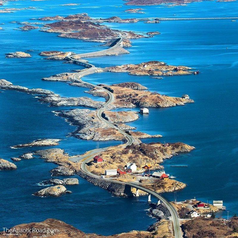 Atlanterhavs Road, Norway