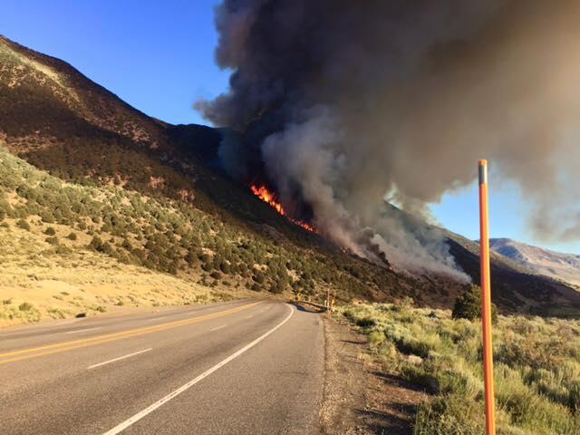 Fire season in California