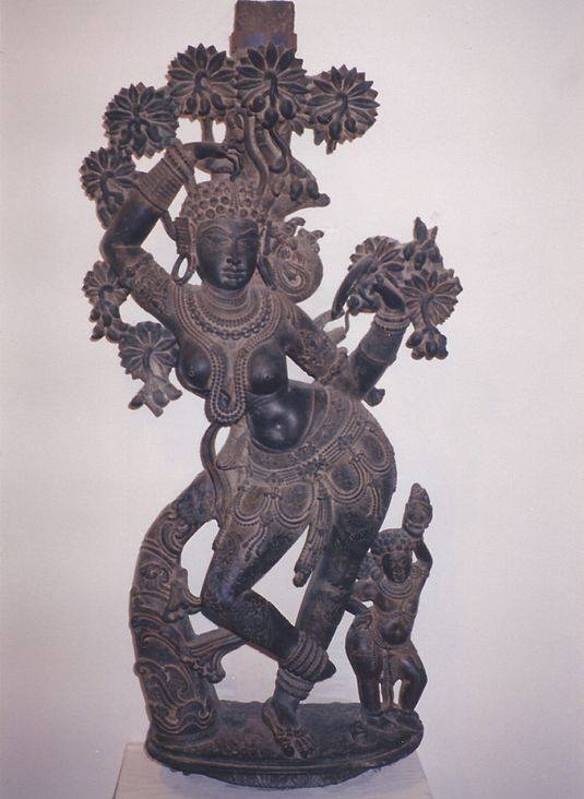A figurine of Mohini, the only female avatar of the god Vishnu, has been uncovered in Bangladesh