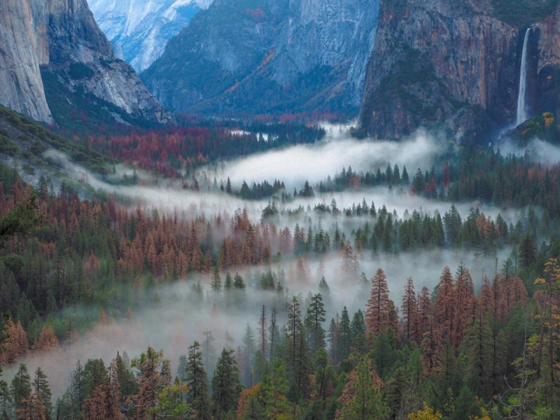 Yosemite Valley at 7 a.m.