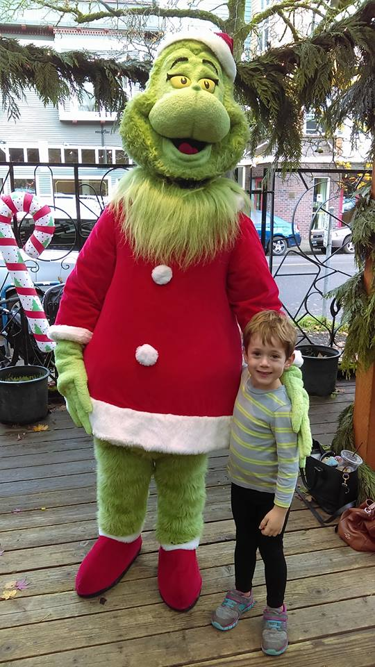 Grinch and the little guy
