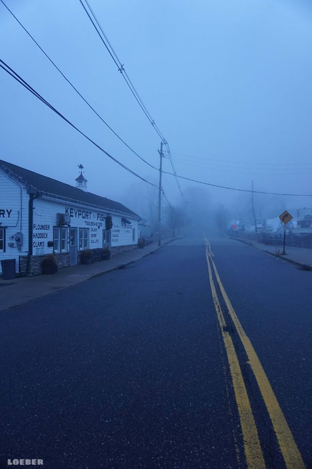 Morning fog, Keyport Fishery