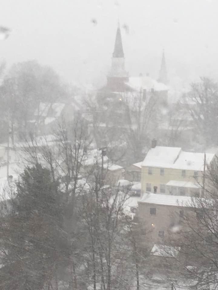 Snow in Keyport, 2:9:17