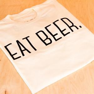 Eat beer