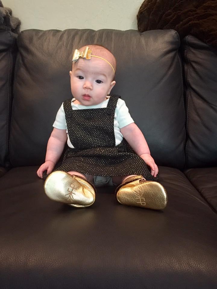 Golden shoes 2