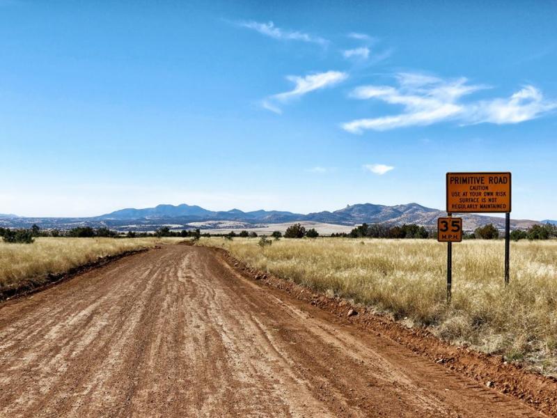 Get Used To Primitive  Cochise County  Arizona