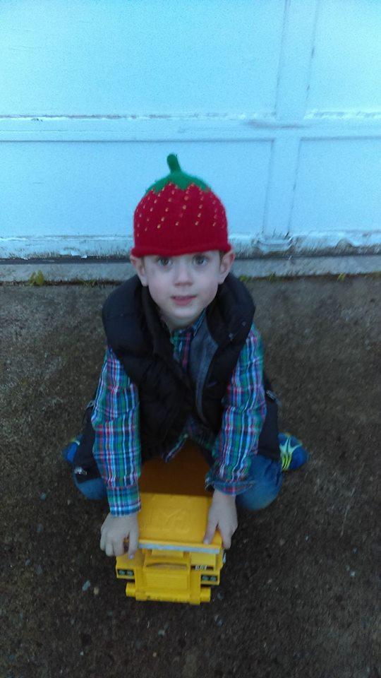 O as strawberry