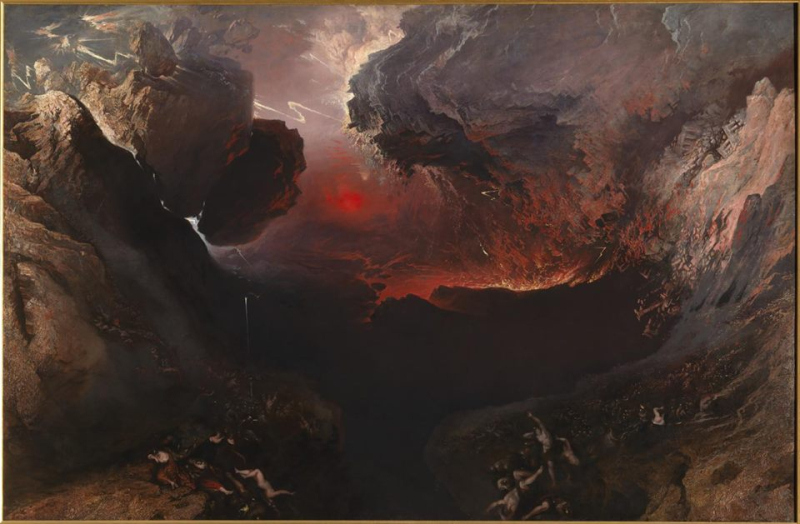 John Martin  The Great Day of His Wrath