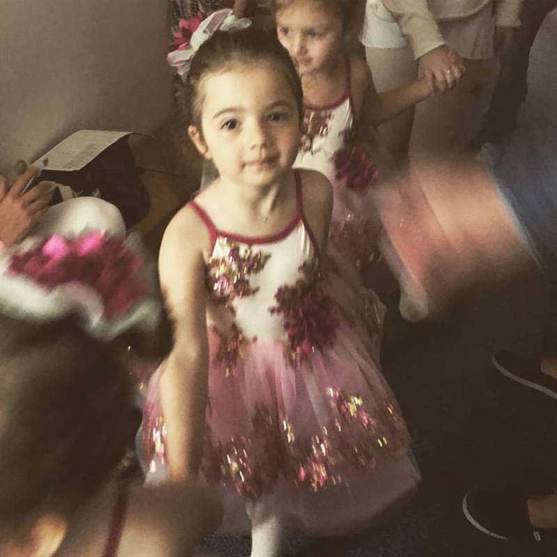 Picture day at ballet school