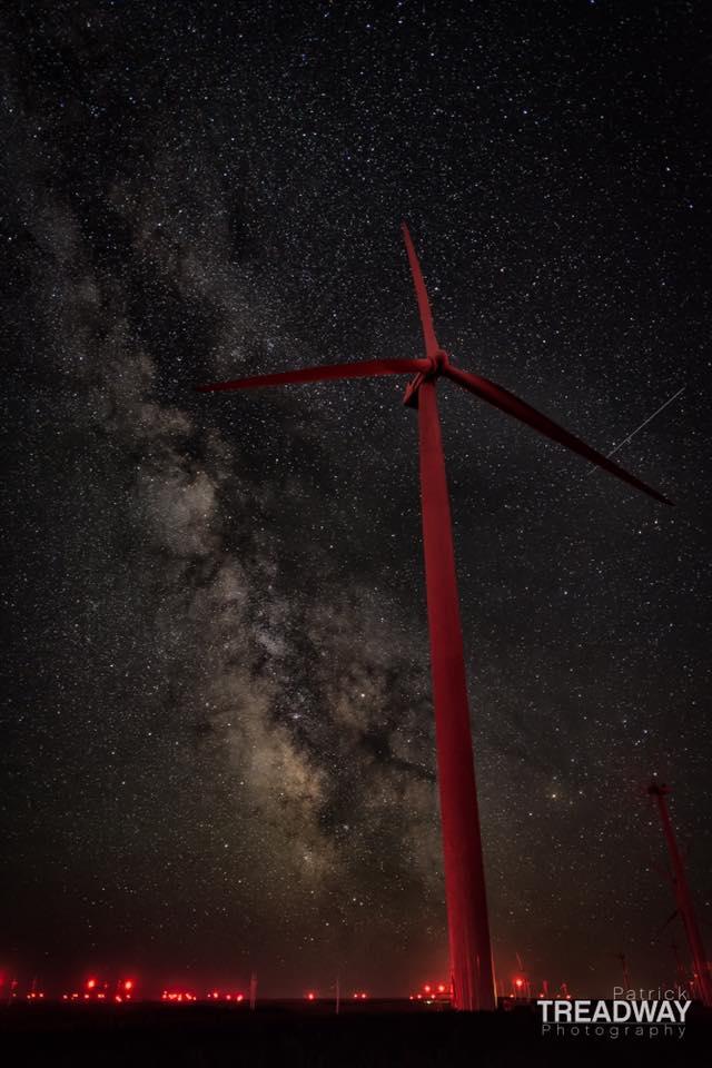 Wind farm  Oregon