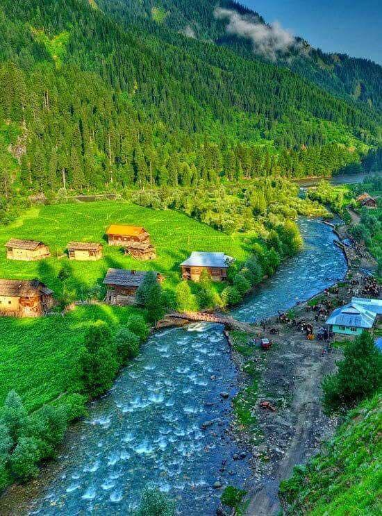 Neelum Valley in Pakistan