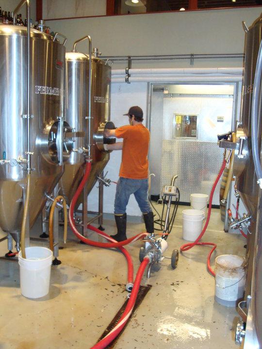 The brewery next door