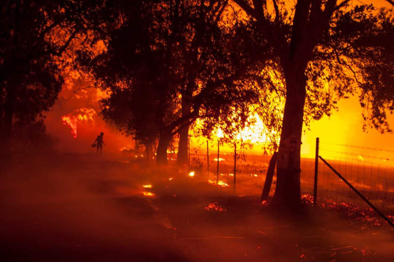 Northern California wildfires 3