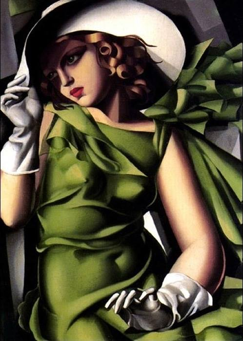 Young Lady in Green