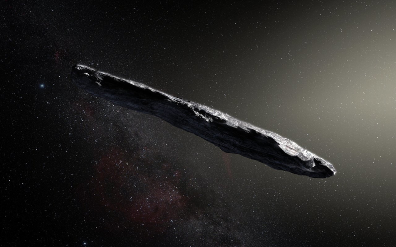 Interstellar asteroid