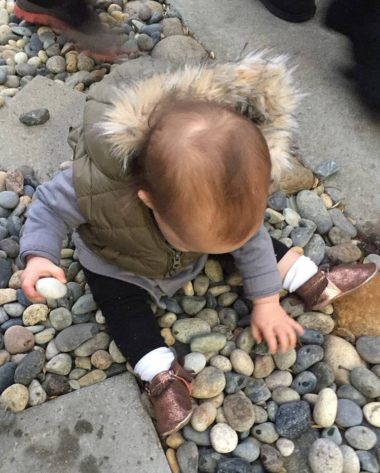 Fascinated with rocks