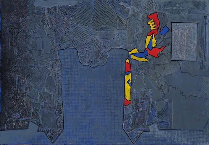 Regrets  by Jasper Johns