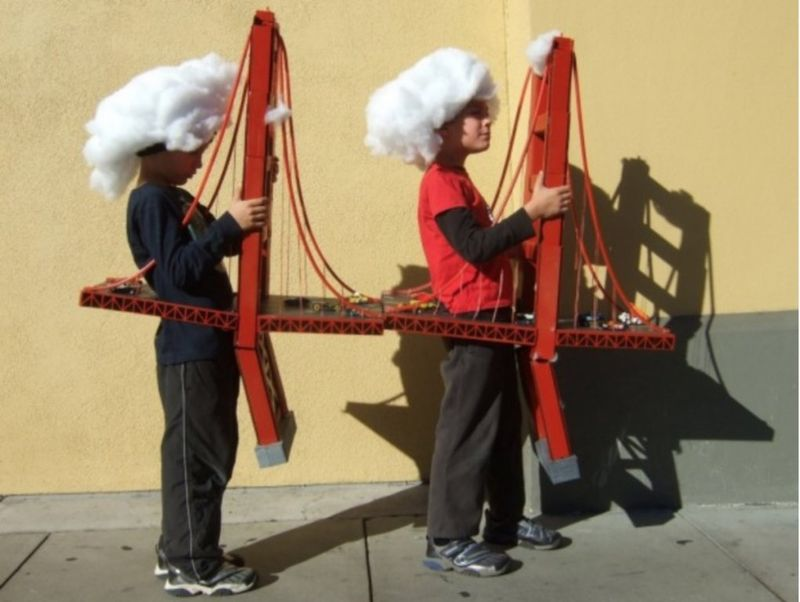 Golden Gate Bridge costume