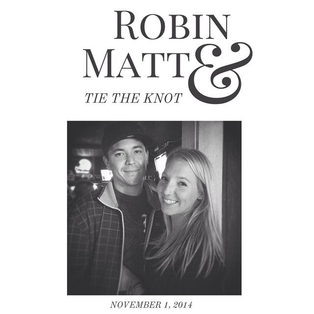Matt and Robin Johnson
