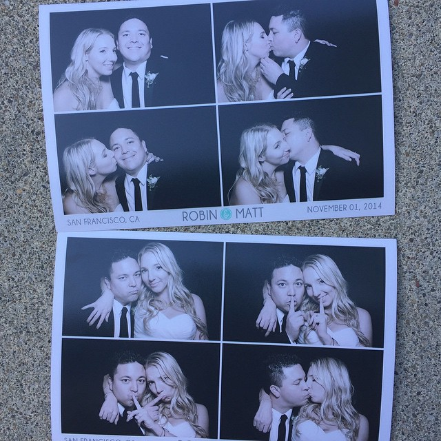 From the photo booth at the Legion of Honor