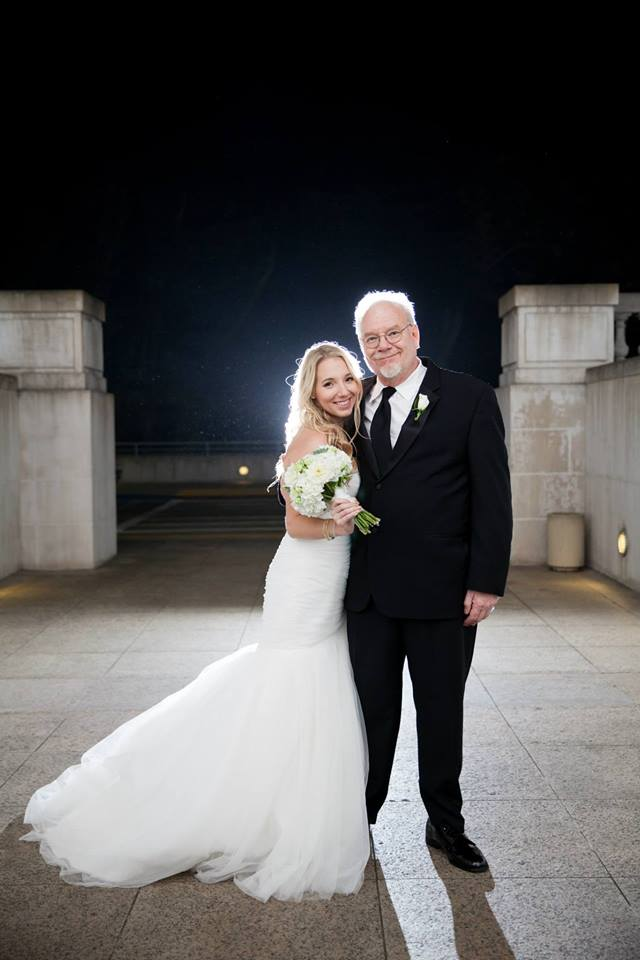 Robin and her dad