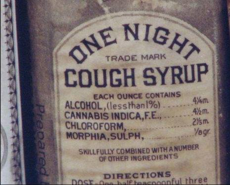 Old cough medicine