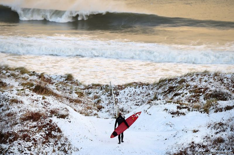 How they surf in Northern Ireland
