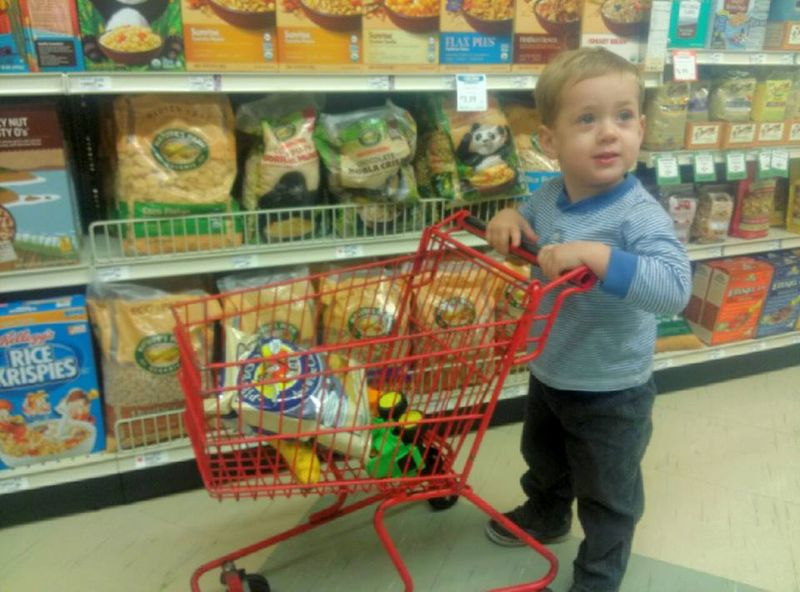Helping momma to shop
