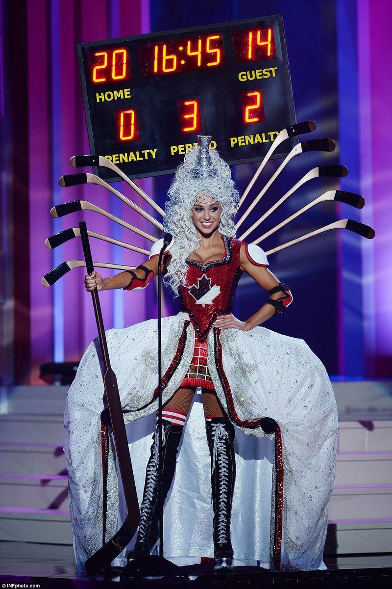 Canada's Miss Universe contestant